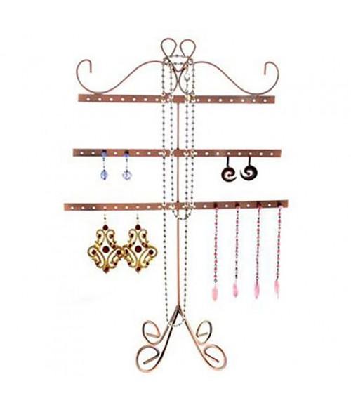 Pr sentoir boucles d 39 oreilles alinea porte bijoux 27 paires - Presentoir boucles d oreilles ...