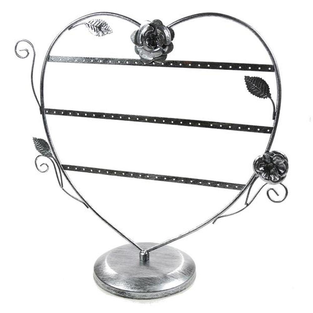 Presentoir boucles d 39 oreilles c ur romantique 30 paires - Presentoir boucle d oreille ...