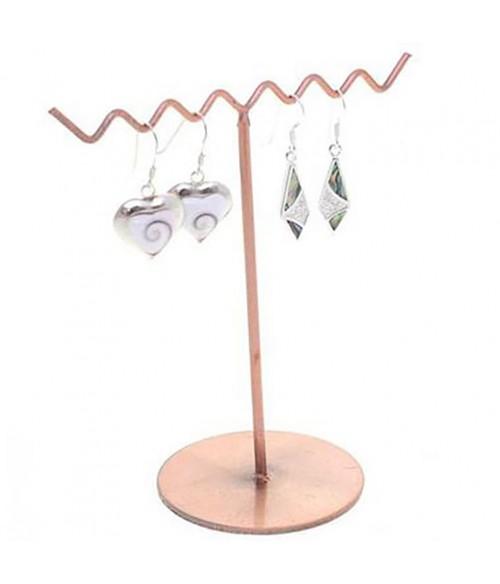Mini présentoir ZigZag pour boucles d'oreilles (3 paires)