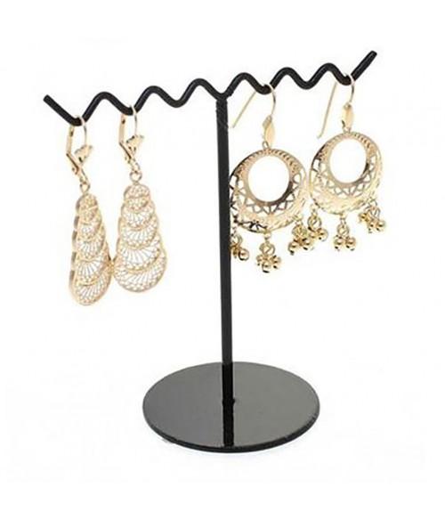 Support boucle d 39 oreille zigzag presentoir boucle 3 paires - Presentoir boucle d oreille ...