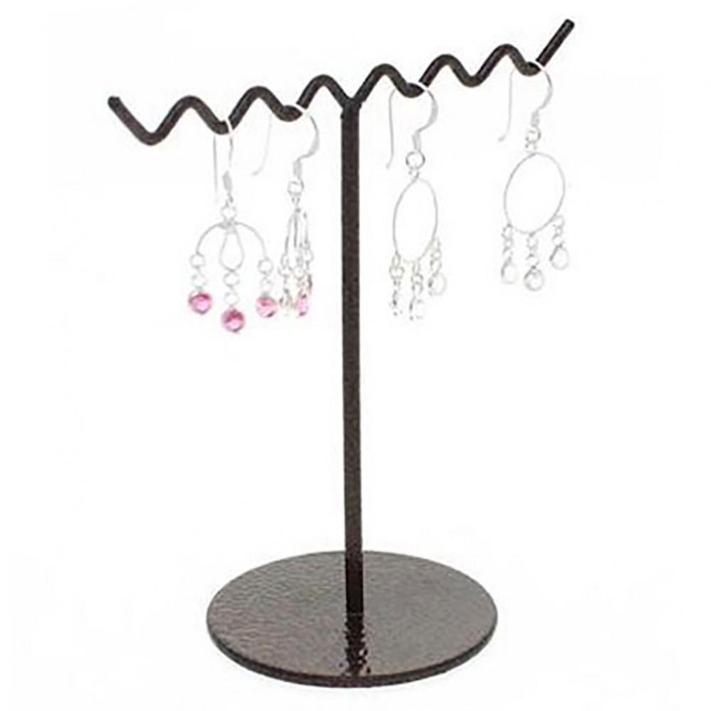 Support boucle d 39 oreille zigzag presentoir boucle 3 paires - Presentoir pour boucles d oreilles ...