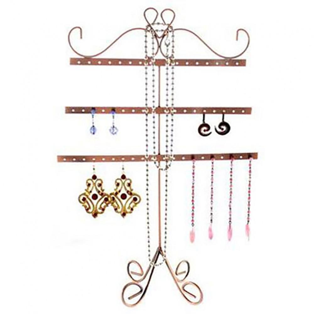 Pr sentoir boucles d 39 oreilles alinea porte bijoux 27 paires - Presentoir pour boucles d oreilles ...