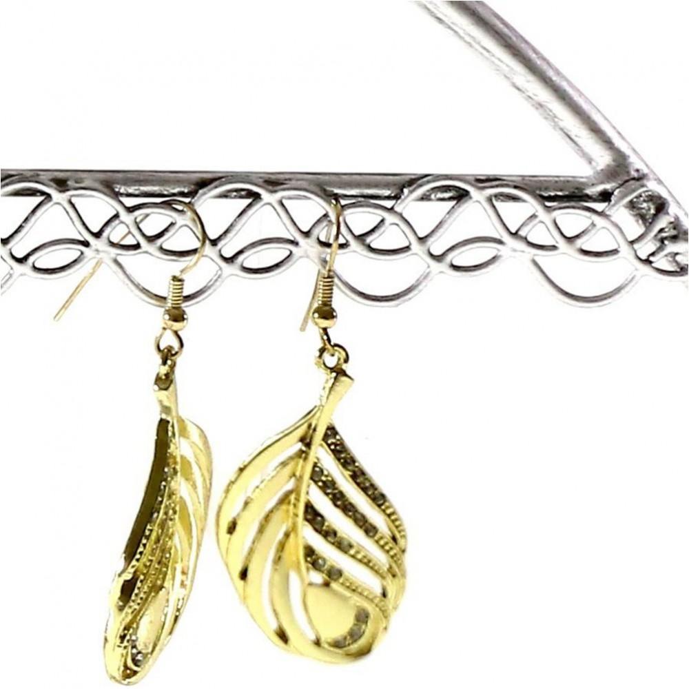 Cintre porte bijoux support boucle d 39 oreille pour 25 paires for Porte boucles d oreille
