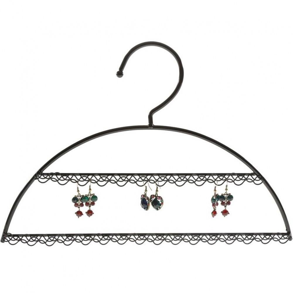Cintre porte bijoux support boucle d 39 oreille pour 25 paires - Presentoir pour boucle d oreille ...