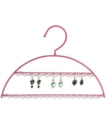 Porte boucle d'oreille Cintre (25 paires) - Rose