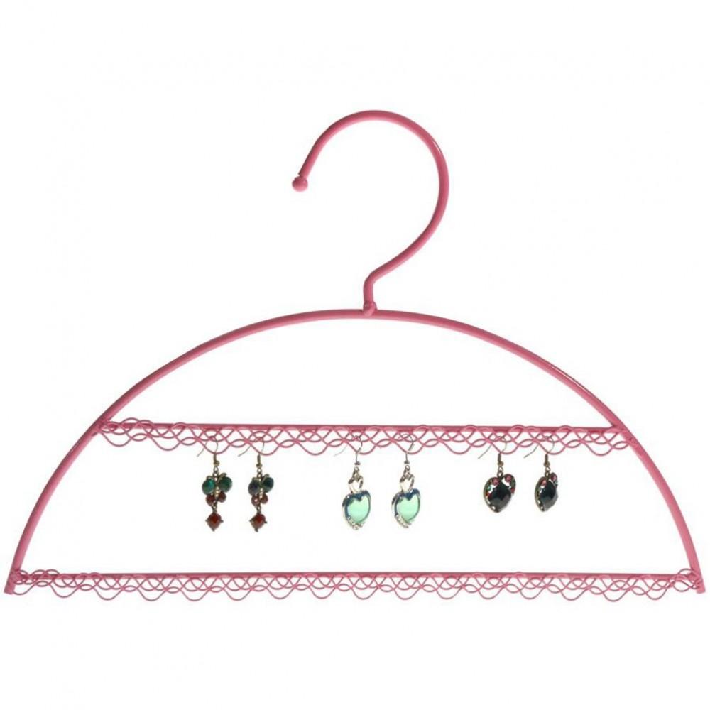 cintre porte bijoux support boucle d 39 oreille pour 25 paires. Black Bedroom Furniture Sets. Home Design Ideas