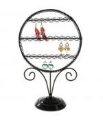 Presentoir boucle d'oreille Sweet Mirror (24 paires) - Noir
