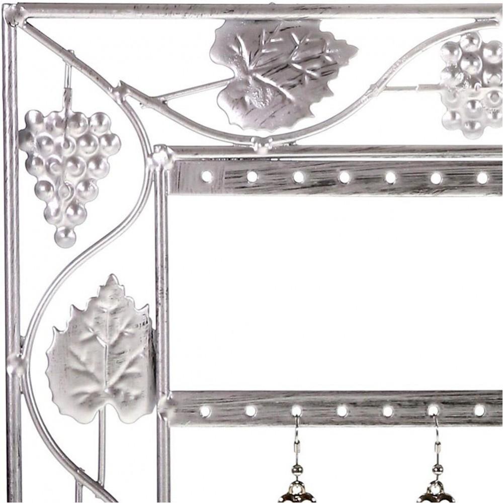 porte bijoux cadre porte boucle d 39 oreille vignes 28 paires ebay. Black Bedroom Furniture Sets. Home Design Ideas