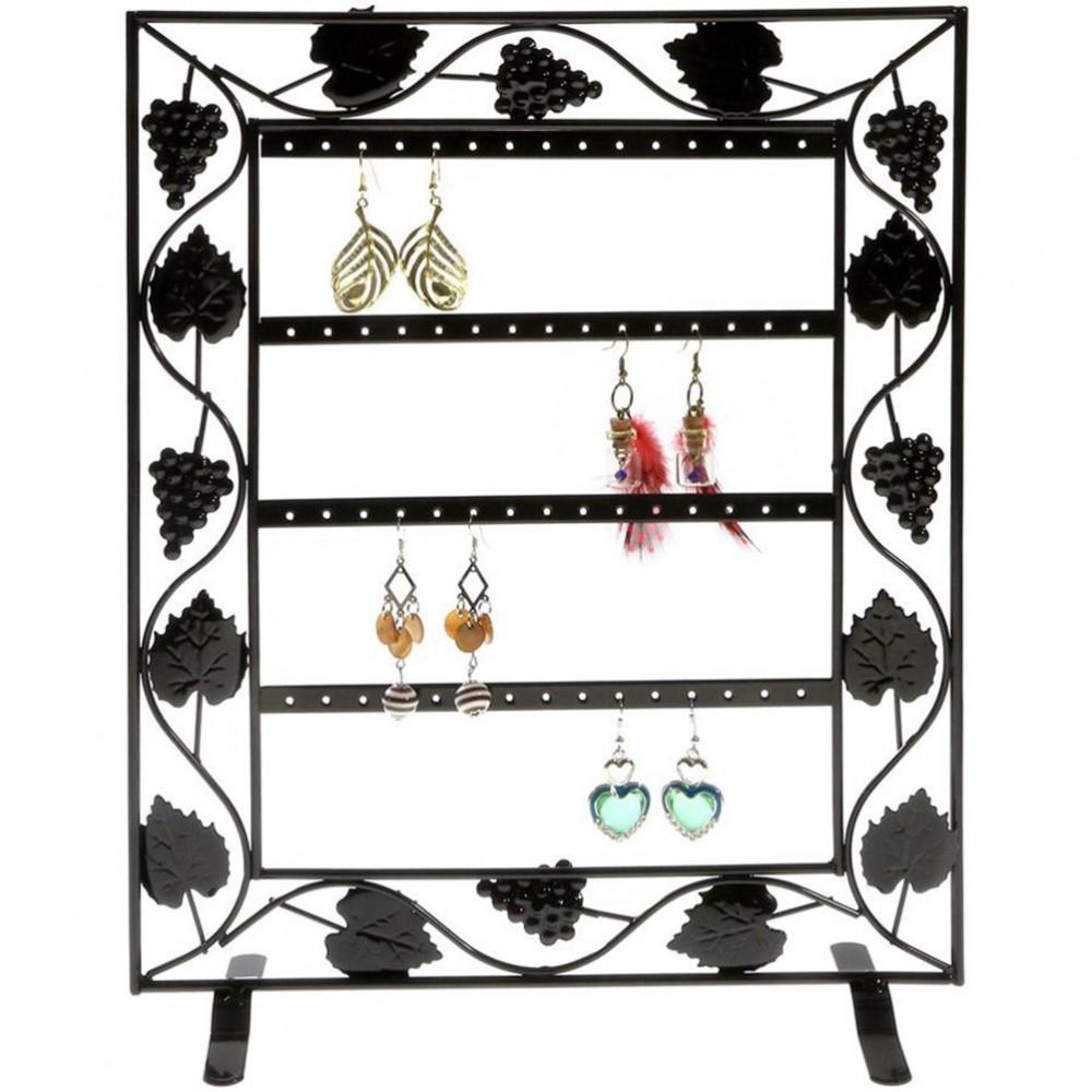 cadre porte bijoux porte boucle d 39 oreille vignes 28 paires. Black Bedroom Furniture Sets. Home Design Ideas