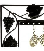 Cadre porte boucle d'oreille Vignes (28 paires)