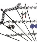 Porte boucle d'oreille Eventail (50 paires)