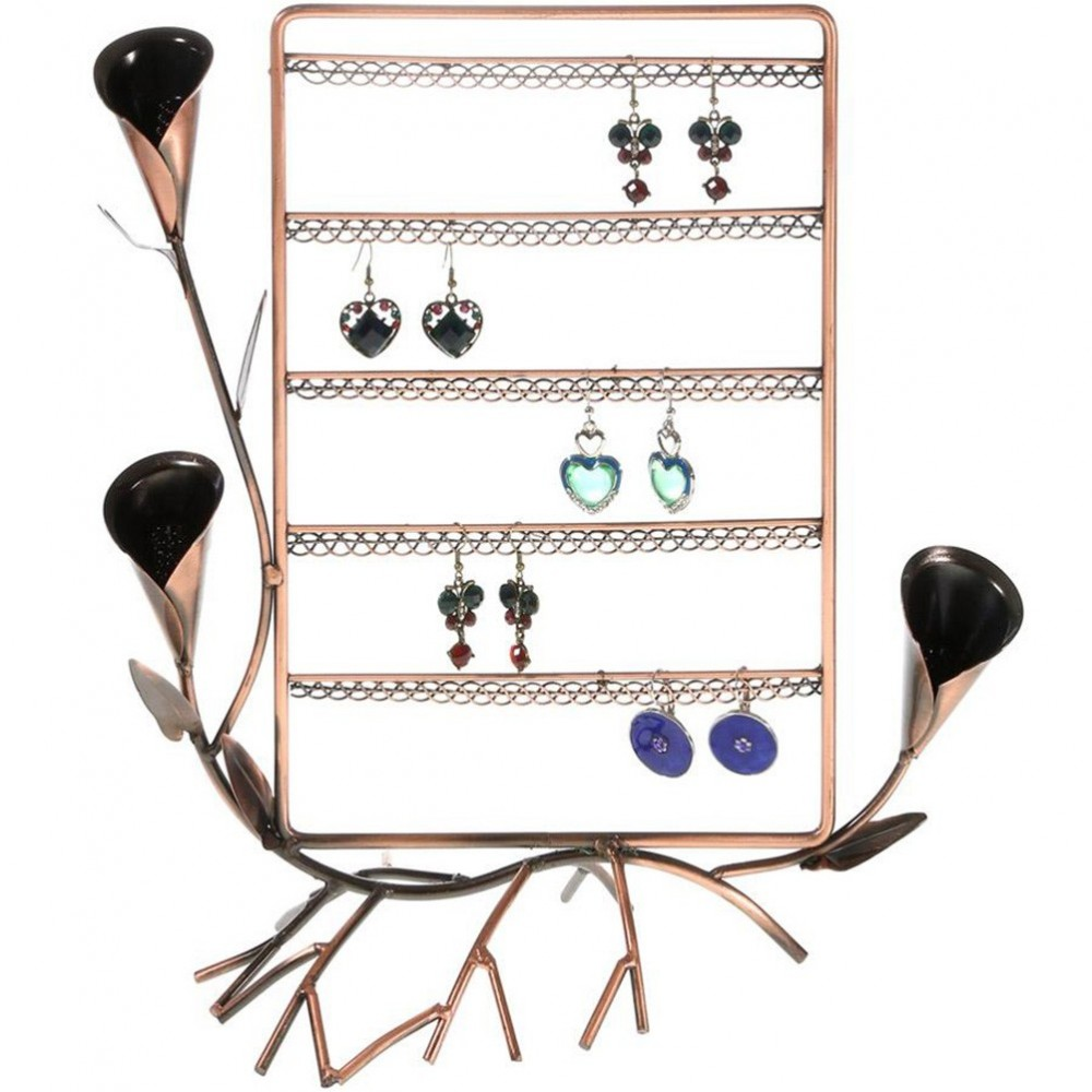 porte boucle d 39 oreille arum pour 40 paires support bijoux. Black Bedroom Furniture Sets. Home Design Ideas