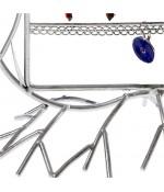 Presentoir boucle d'oreille Fleur Arum (40 paires)