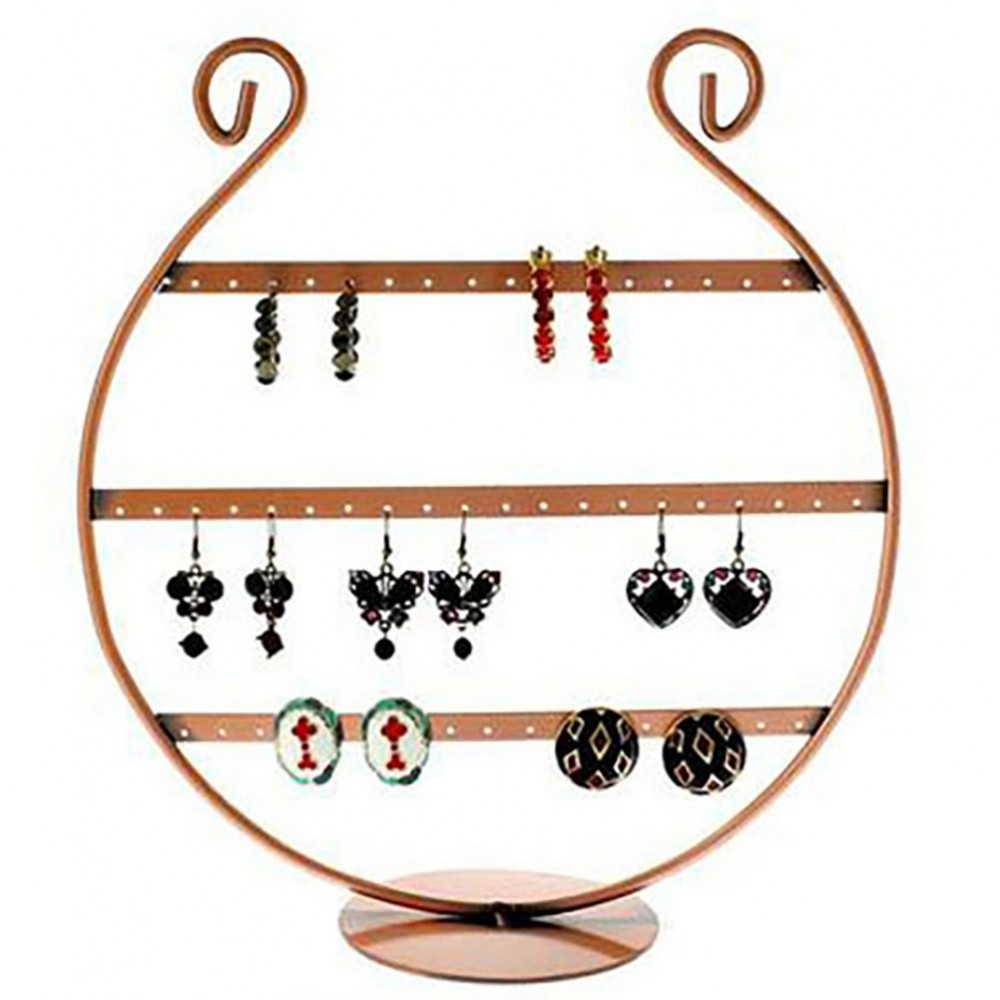 porte bijoux lyre presentoir boucle d 39 oreille 28 paires. Black Bedroom Furniture Sets. Home Design Ideas