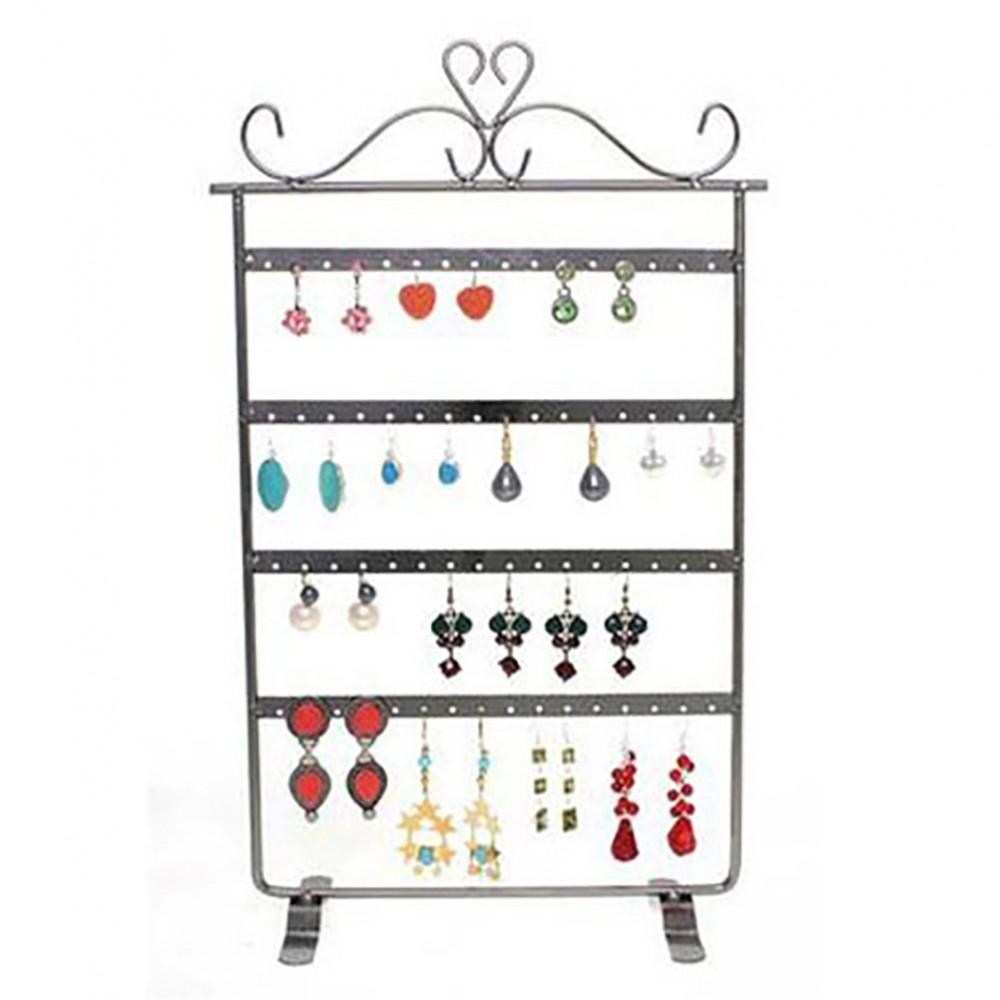 Presentoir boucle d 39 oreille 32 paires cadre bijoux baroque for Porte boucles d oreille