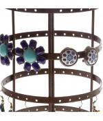 Porte bijoux manège à boucles d'oreilles (54 paires)