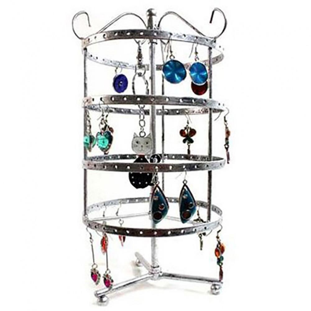 Porte boucle d 39 oreille et collier man ge carrousel 72 paires - Porte bijoux boucle d oreille ...