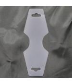 Support de vente emballage colliers et bracelets (50 pièces) - Translucide