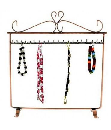 Porte bijoux bracelets, colliers, porte clefs - Cuivre