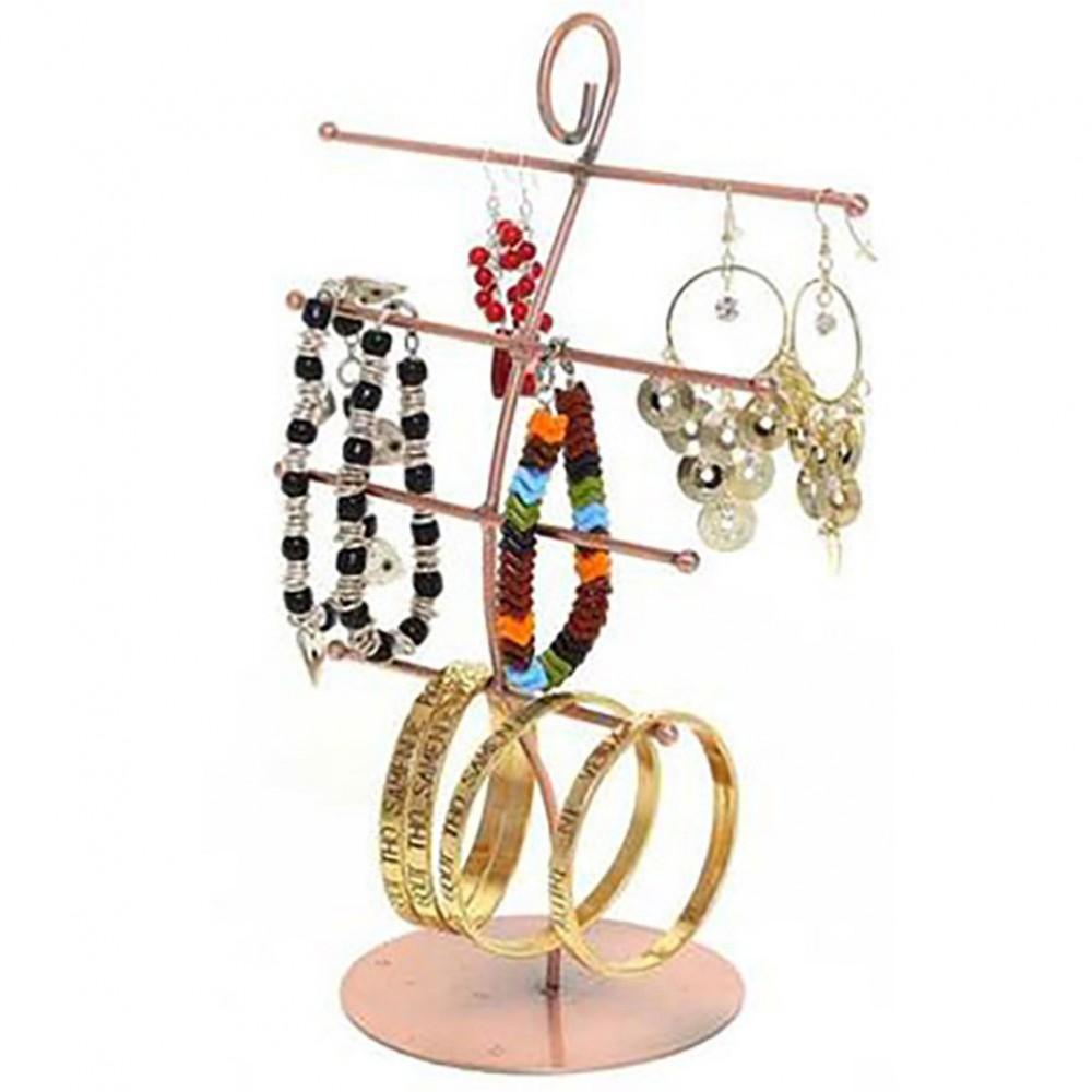 presentoir bijoux antenne en m tal de 27cm de hauteur. Black Bedroom Furniture Sets. Home Design Ideas