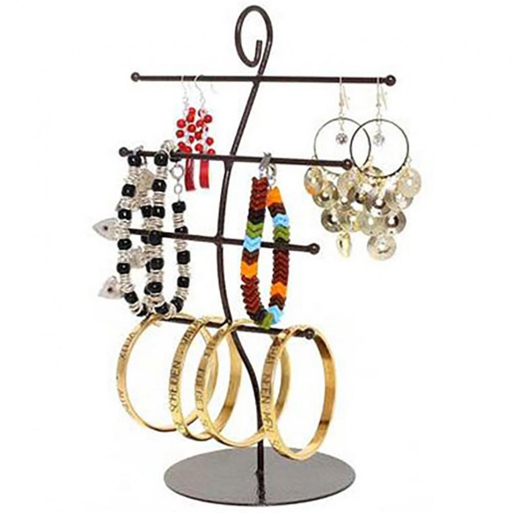 Presentoir bijoux antenne en m tal de 27cm de hauteur - Presentoire a bijoux ...
