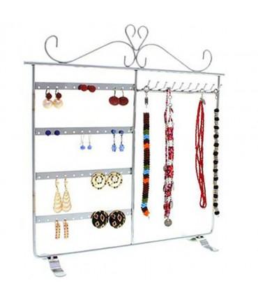 Cadre porte bijoux Dressing boucle d'oreille et collier