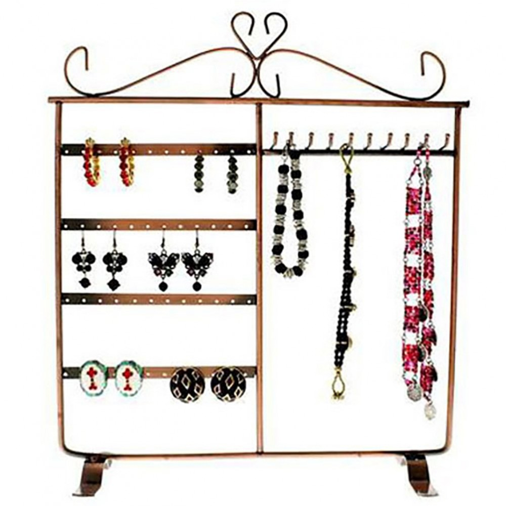 porte bijoux cadre dressing pour boucle d 39 oreille et collier. Black Bedroom Furniture Sets. Home Design Ideas