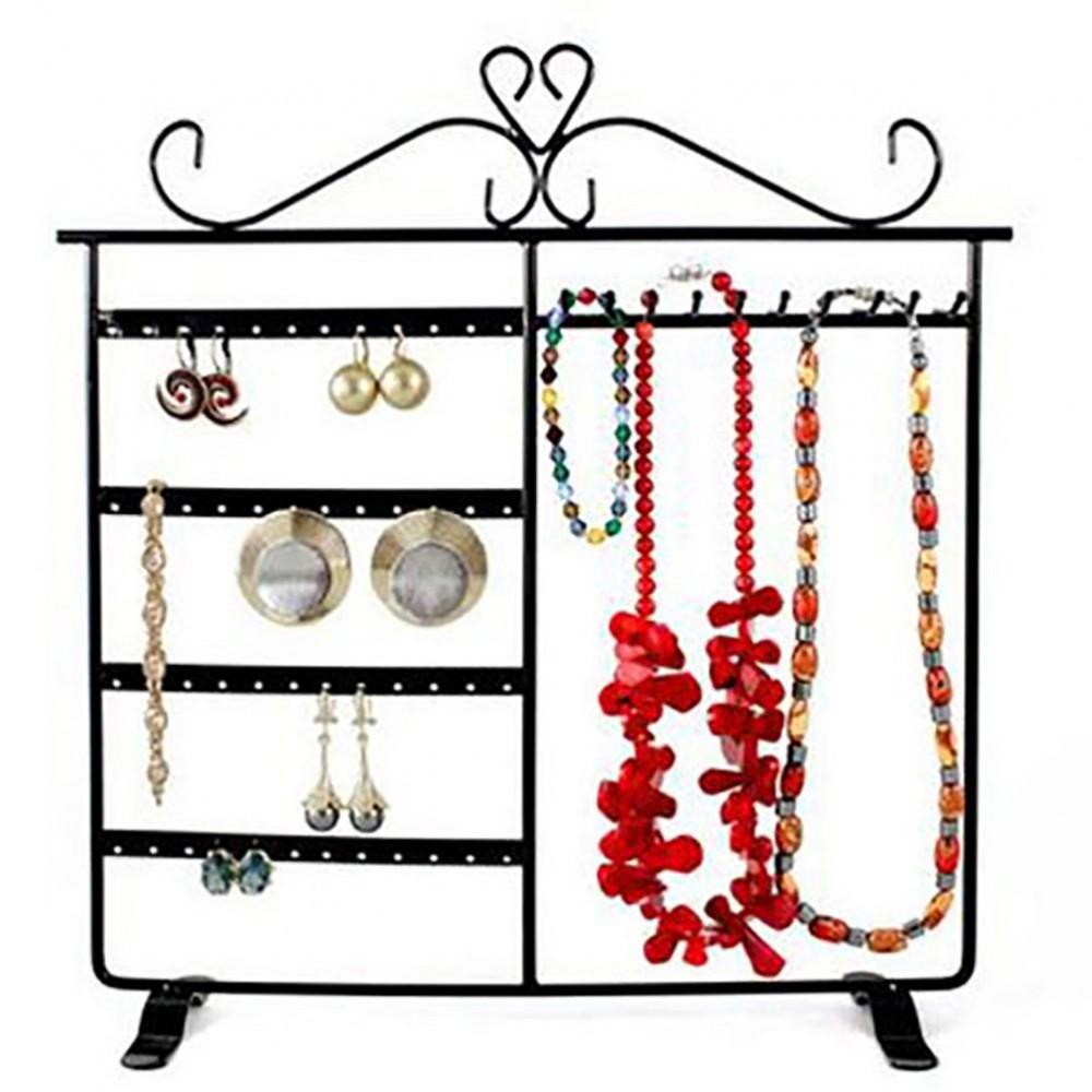 Porte bijoux cadre dressing pour boucle d 39 oreille et collier - Porte boucle d oreille maison ...