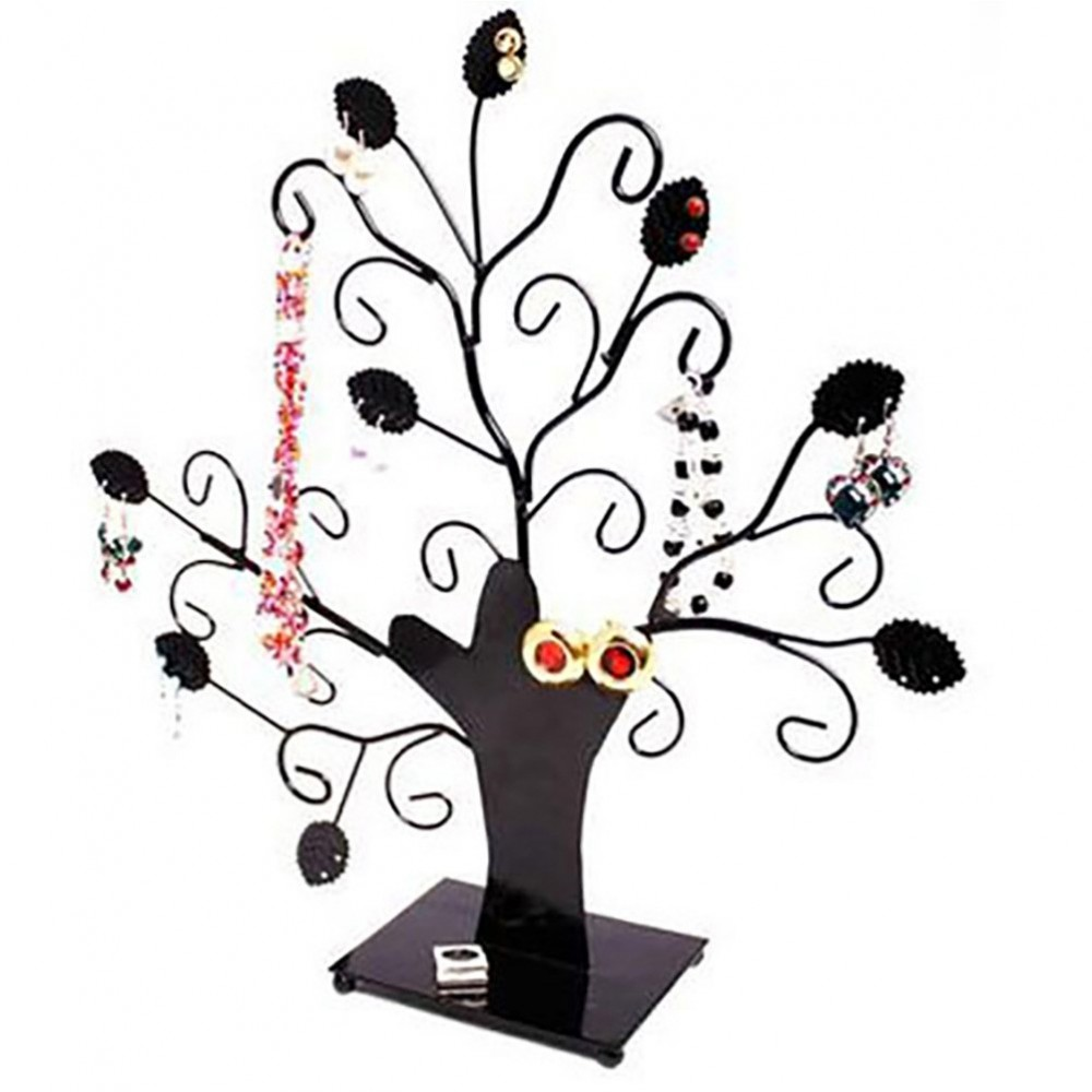 arbre boucle d 39 oreille arbre bijoux mixte fioriture. Black Bedroom Furniture Sets. Home Design Ideas