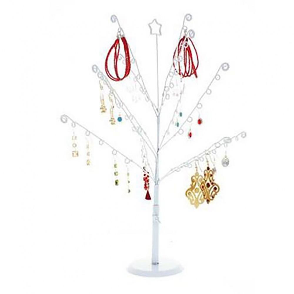 porte bijoux arbre boucle d 39 oreille et bijoux noela 14 crochets ebay. Black Bedroom Furniture Sets. Home Design Ideas