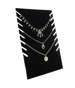 Presentoir collier Plaque pour stand H 28 cm (8 colliers)