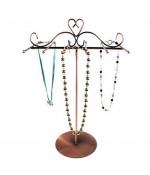 Porte bracelets et colliers Princess H 30 cm (12 crochets) - Cuivre