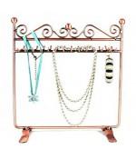Porte bijoux cadre Dressing bracelet collier et accessoire - Cuivre
