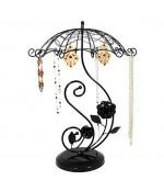 Porte bijoux Umbrella pour collier bracelet et boucles - Noir