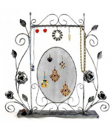 Porte bijoux Grand Cadre pour collier chaine et boucles