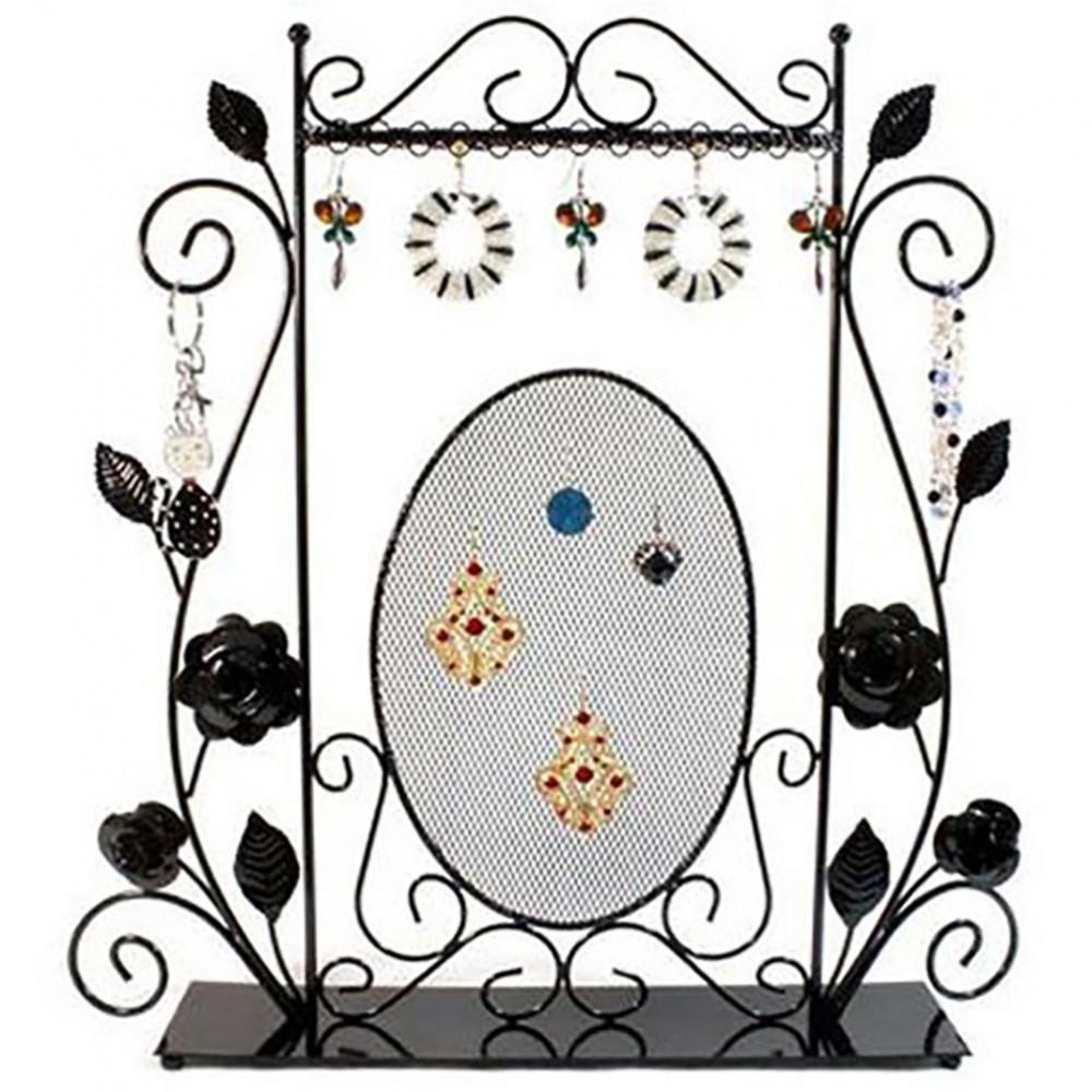 cadre porte bijoux pour collier chaine et boucle d 39 oreille. Black Bedroom Furniture Sets. Home Design Ideas