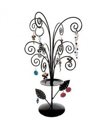 Arbre à bijoux décoratif mixte Fireworks. - Noir