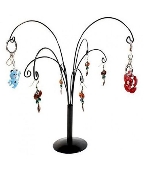 Arbre à bijoux et porte clés  Saule Pleureur 8 crochets