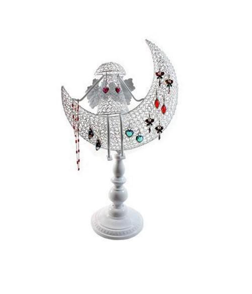 Porte bijoux Ange décoratif pour boucle d'oreille et chaines