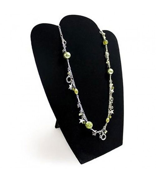 Buste plat pliant pour colliers ou chaînes 31 cm