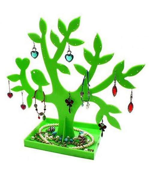 Arbre boucle d 39 oreille arbre bijoux mixte happy tree - Boite a bijoux boucle d oreille ...