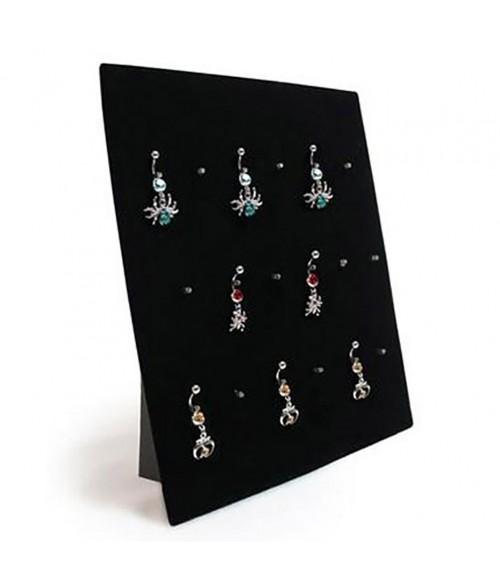 Présentoir à bijoux pour piercings (18 pièces)