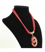 Buste porte collier et chaîne en velours 36 cm