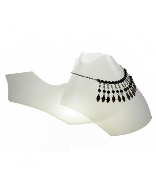 Bustes colliers pliants 10 cm (10 pièces)