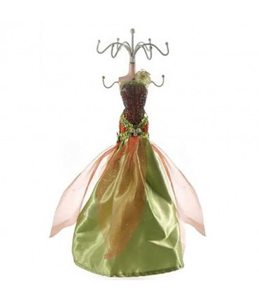 Poupée porte bijoux Dress Collection - Vert