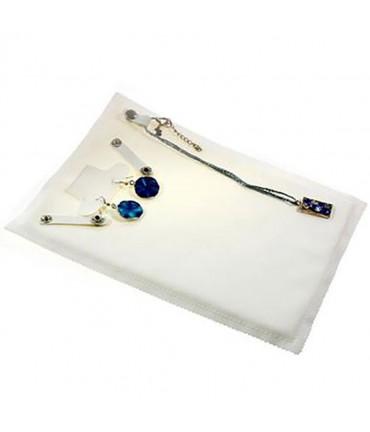 Pochette bijoux marmotte de rangement - Blanc