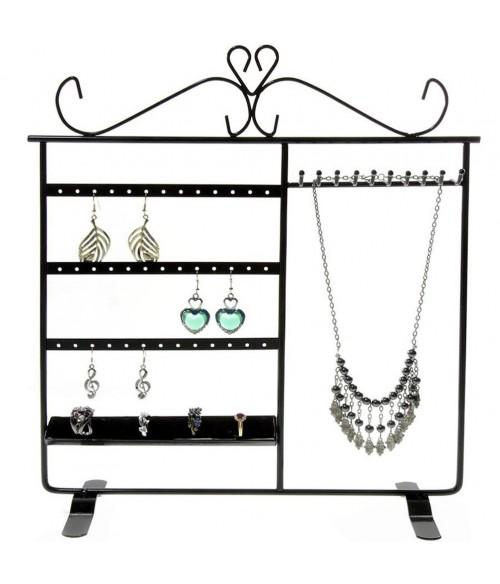 Porte bijoux cadre Tout-En-Un boucle collier bague bracelet
