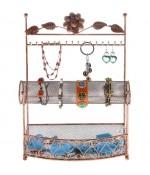 Porte bijoux Hilda avec panier et jonc pour bijoux