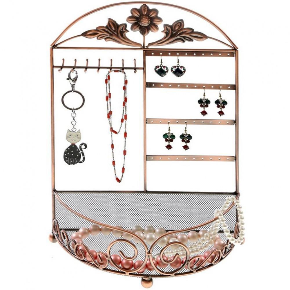porte bijoux porte bijoux cadre mixte corbeille baroque avec panier ebay. Black Bedroom Furniture Sets. Home Design Ideas