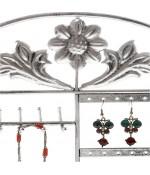 Porte bijoux cadre mixte Corbeille Baroque avec panier